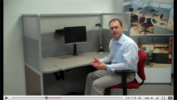 Sit to Stand Workstation Video