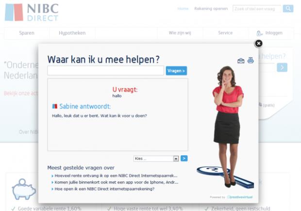 NIBC Direct's Sabine
